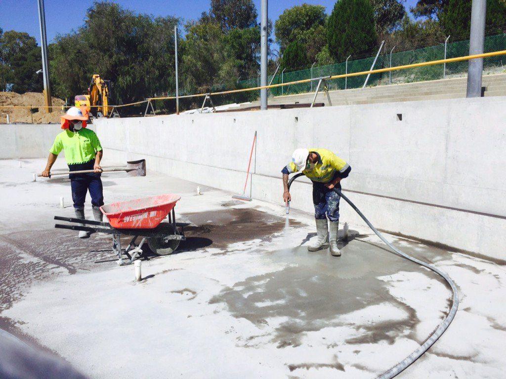 Bold Park Aquatic Centre Redevelopment Surface Prep