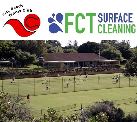 City Beach Tennis Club and FCT Surface Cleaning